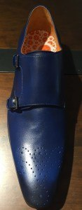 Shoe d'O 2 gesp blauw