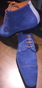 shoe d'O blauw suede